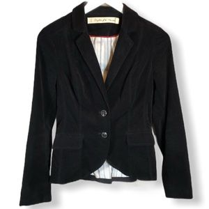 Daughters of the Liberation Black Velvet Blazer